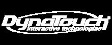 DynaTouch Interactive Technologies Logo White