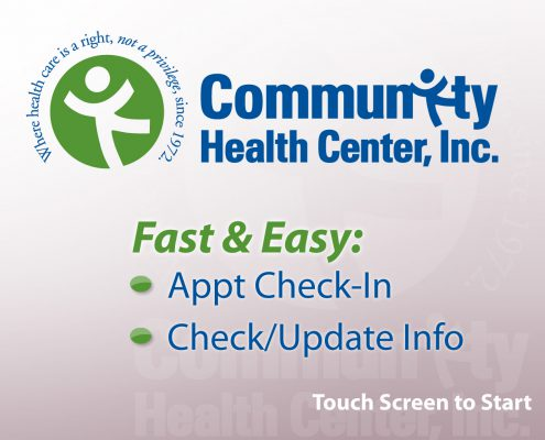 Community Health Center Check-in Screensaver