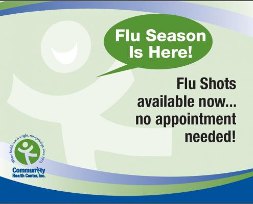 Community Health Center Flu Kiosk Screensaver