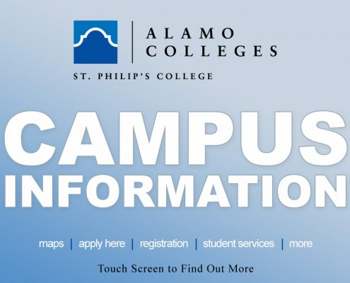 Alamo Colleges St. Philips Main Menu