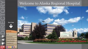Alaska Regional Hospital Main Menu