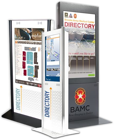 Wayfinding and Directory Kiosk Models