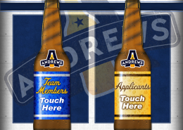 Andrews Distributing HR Main Menu