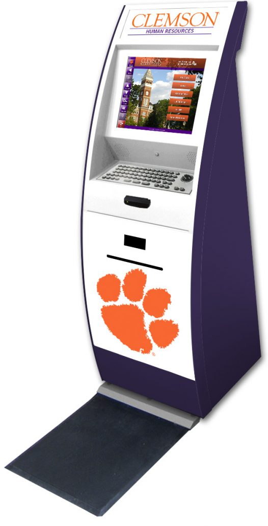 employee self service kiosks by dynatouch college and clients dynatouch 770