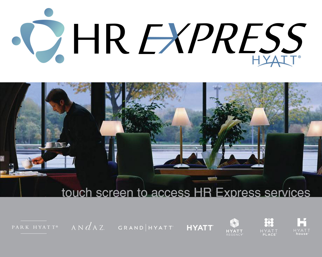 Hyatt Hotels Human Resources HR Screensaver