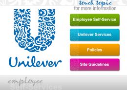Unilever Main Menu