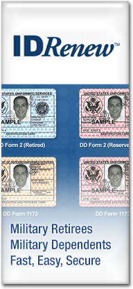 IDRenew, Easy ID Renewal Kiosk for Military Retirees and Dependents
