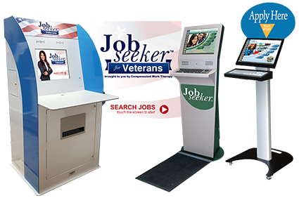 Human Resources - Jobseeker Kiosk and Menus Collage