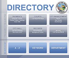CLV Directory Menu