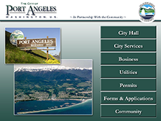 Port Angeles Main Menu