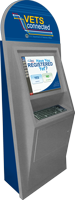 Vets Connected Kiosk Silver
