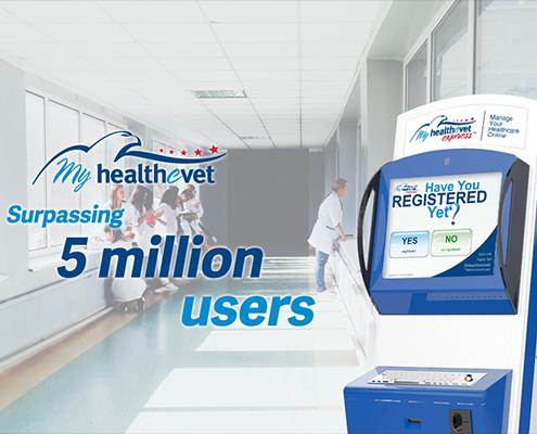 MHV Express Kiosks Help the VA Achieve a Major Milestone for Their Patient Portal