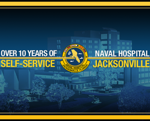 DynaTouch salutes Naval Hospital Jacksonville for more than 10 years of Self-Service excellence using TIPS Kiosks to collect customer feedback