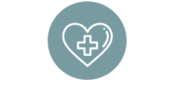Healthcare industry solutions icon