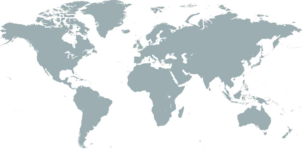 World map to show DynaTouch Installs Around the World