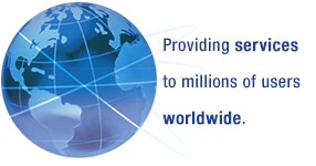 Providing Services to Millions of Users Worldwide