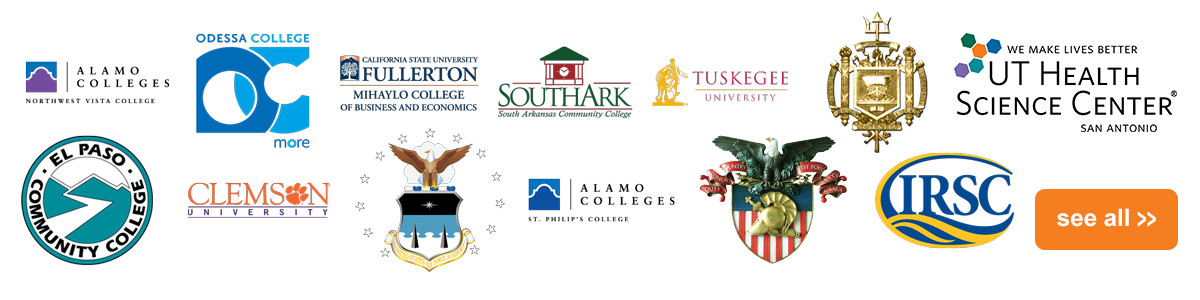 Colleges & University Clients Logos