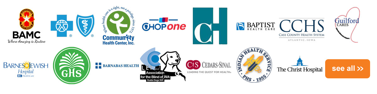 Healthcare Clients Logos