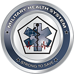 Military Health System logo (MHS)