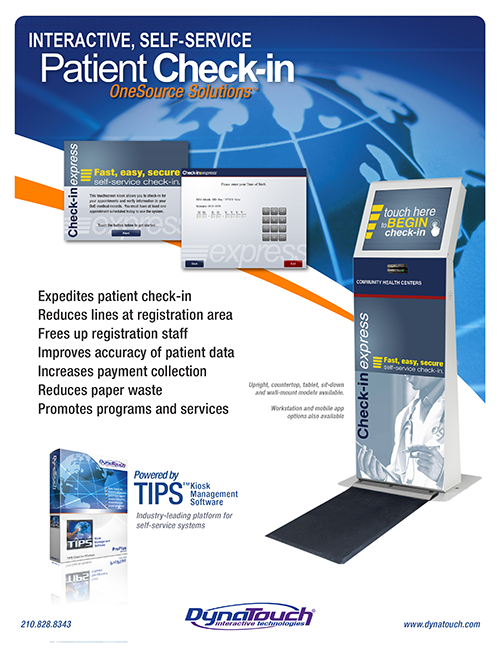 patient check-in solution download preview