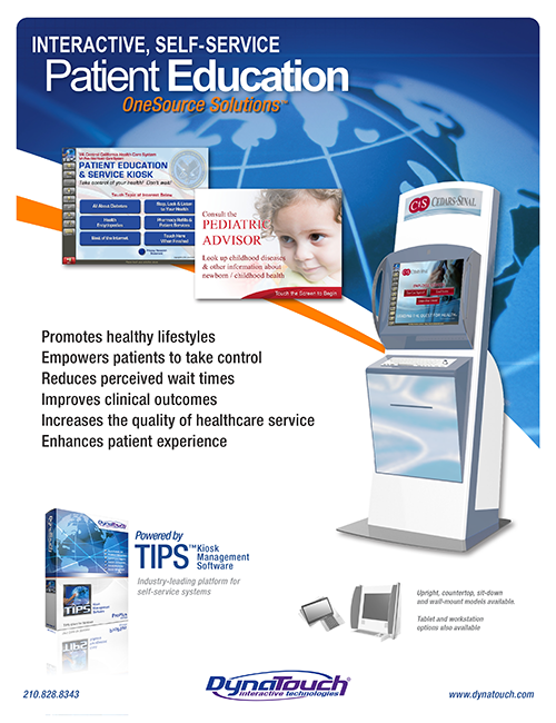 patient education kiosk download preview