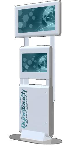 Floor Standing Overhead Kiosk Model C