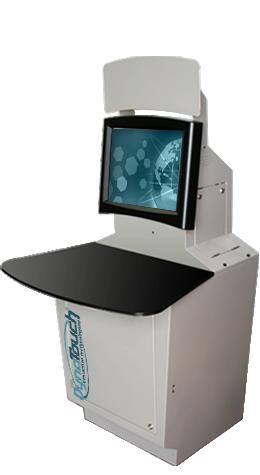 Sit-Down Desktop Kiosk Model B
