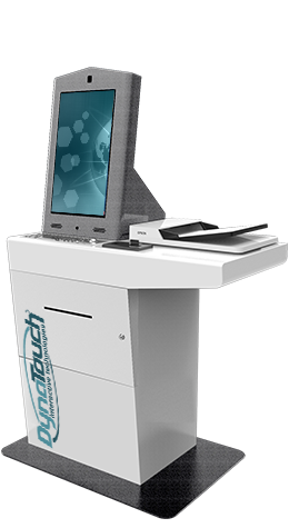 Sit-Down Desktop Kiosk Model C
