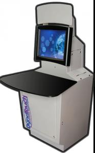 Sit-down Desktop Kiosk Model D