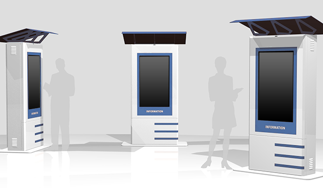 outdoor kiosk models